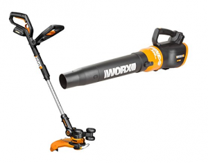 WORX WO7022 20-Volt GT 2.0 Trimmer and Turbine Blower Combo
