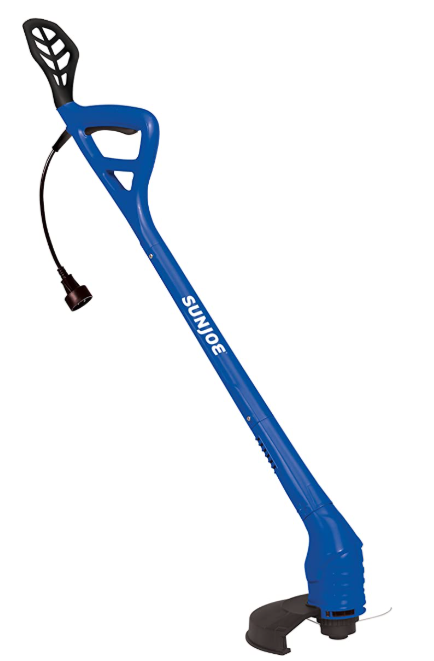 Sun Joe TRJ607E-SJB 10-Inch 2.5 Amp Electric String Trimmers, Dark Blue